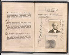 ARGENTINA Fine Constantinople Sephardic Jew - PASSPORT - PASSEPORT - ISRAEL - TURKEY - ITALIA - FRANCE VISAS And REVENUE - Historische Dokumente