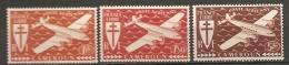 CAMEROUN - PA  Yv. N°12,13,14  *  1f ,1f50,5f   Cote  1,2 Euro  BE 2 Scans - Cameroun (1915-1959)