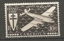 CAMEROUN - PA Yv. N° 15  *  510f  Cote  0,9 Euro BE 2 Scans - Cameroun (1915-1959)