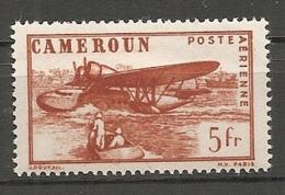 CAMEROUN - PA Yv. N° 25  *  5f  Cote 0,6 Euro BE 2 Scans - Cameroun (1915-1959)