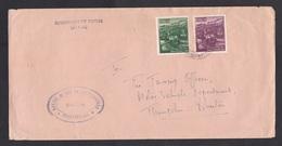 Bhutan: Cover, 1972, 2 Stamps, Bridge, Sent By Civil Government (minor Creases) - Bhutan