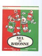 Sel De Bayonne Rabats Carte De France  3 Scans Protège-cahier TB - Copertine Di Libri