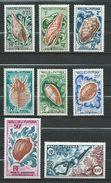 Wallis And Futuna 1962/63.Marine Fauna - Shells. Trochus Fisherman. MNH** - Unused Stamps