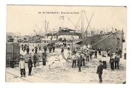 59 NORD - DUNKERQUE Travail Au Port - Dunkerque