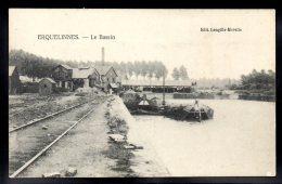 BELGIQUE - ERQUELINNES - Le Bassin - Péniche - Erquelinnes