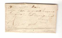 LAC De Veurne(Furnes) 10/12/1769 Taxée 4 Tot Gent PR4814 - 1714-1794 (Austrian Netherlands)