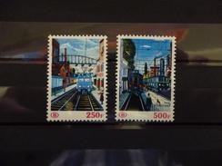 BELGIE SPOORWEG 459/60   Xx (  COB ) COTE : 50 EURO ( G ) - Railway