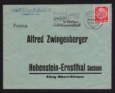 DR EF 519 MWSt BERLIN, Vermeidet Verkehrsunfälle ... 1936 > HOHENSTEIN-ERNSTTHAL - Allemagne