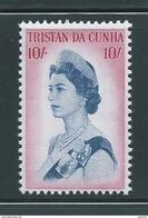 Tristan Da Cunha 1965 10 Shilling QEII Definitive Single MNH - Tristan Da Cunha