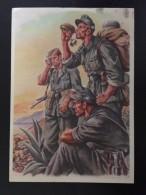 DAS MARSCHZIEL IST ERREICHT - GEBIRGSJAGER - PK KRETSCHMANN - Weltkrieg 1939-45