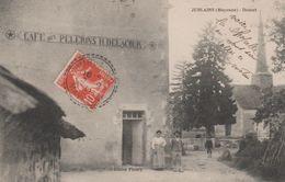 53 JUBLAINS DOUCET CAFE DES PELERINS TENU PAR H. DELACOUR - France