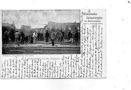 CPA - BISCHWILLER (67) - Aspect De La Catastrophe Ferroviaire Du 4 Janv. 1900 - 3° Photo Après La Catastrophe - Bischwiller