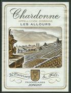 Rare // Etiquette // Chardonne, Les Allours, J.-Louis Taverney, Jongny, Vaud,Suisse - Etiquettes