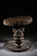 Art Africain Tabouret Tchokwé - Art Africain