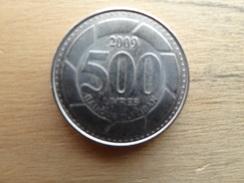 Liban  500 Livres  2009  Km 39 - Liban