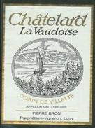 Rare // Etiquette // Villette, La Vaudoise, Pierre Bron, Lutry, Vaud,Suisse - Etiquettes