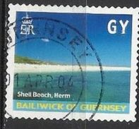 Guernsey Lotto N.491 Anno 2001 Cat. Yvert N.905 Usato - Guernesey
