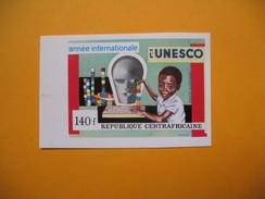 Timbre Non Dentelé  N° PA 94  25 ème Anniversaire De L'UNESCO Et De L'Alphabétisation    1972 - Central African Republic