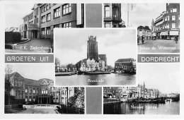 ** Set Van 2 Kaarten ** NEDERLAND Holland ( NL ) DORDRECHT :  Groeten ( Multiviews ) CPSM PF - Netherlands - Dordrecht