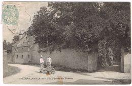 CPA - 76 - CAILLEVILLE - Château - Jardinier Et Sa Brouette - Saint Valery En Caux