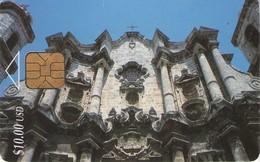 TARJETA TELEFONICA DE CUBA (CATEDRAL DE LA HABANA) (367) - Cuba