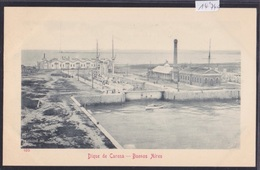 Buenos Aires (ca 1903) : Dique De Carena (14'740) - Argentine