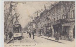 13    Aubagne   Cours Legrand  Cafe Du Commerce Hotel Du Cours  Tramway - Aubagne