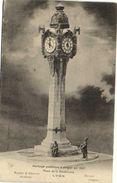 Horloge Publique à Eriger En 1907 Place De La Demi Lune Tassin  LYON  Robert Et Chollat Arch Devaux Sculp Recto Verso - Lyon