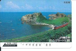 Train Mer Rocher Carte Prépayée Kart Card  (D.93) - Paysages