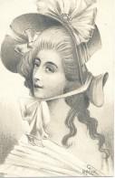 Portrait De Femme - G. Ralik - 1911 - Frauen