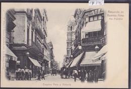 Recuerdo De Buenos Aires (ca 1900) : Esquina Peru Y Victoria (14'745) - Argentine
