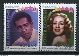 Cuba 2017 / Cinema & Theater Actors Rosita Fornes Alden Knight MNH Cine Teatro Actores / Cu5403  1 - Cinema