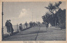 11073-PALMI(REGGIO CALABRIA)-VILLA UMBERTO I°-ANIMATA-1941-FP - Reggio Calabria