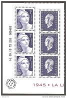 2015 -N° 4986 4987 -Coin Daté (6 Timbres ) Du Bloc LIBERATION -NEUF ** LUXE ( 3 Gandon +3 Dulac ) Faciale=6.00 - France