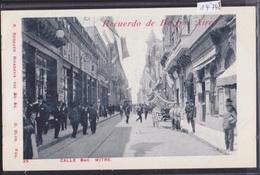 Recuerdo De Buenos Aires (ca 1900) : Calle Bartolome Mitre (14'748) - Argentine