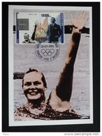 Republic De Guinee Olympics Ada Kok 1968 On Kind Of Maximcard Or Memorycard 2001 - Summer 1968: Mexico City