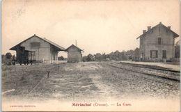 23 - MERINCHAL --  La Gare - Autres Communes