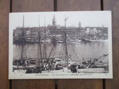 CPA 59 DUNKERQUE LES ISLANDAIS ET PANORAMA DE LA VILLE - Dunkerque