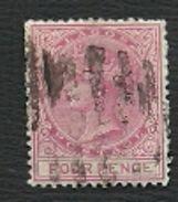 LAGOS  - NIGERIA  = TIMBRE  POSTE   N° 10 - Nigeria (...-1960)