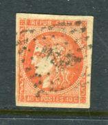 Rare N° 48 Pli Accordéon Signé Calves - 1870 Emission De Bordeaux