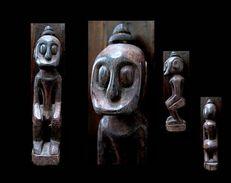 Ancienne Figure De Bornéo / Borneo Vintage Figue - Unclassified