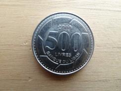 Liban  500 Livres  2000  Km 39 - Liban
