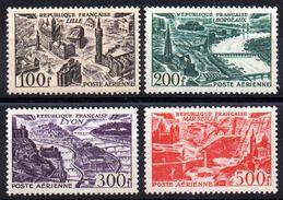FRANCE - YT PA N° 24 à 27 - Neufs ** - MNH - Cote 110,00 € - 1927-1959 Mint/hinged