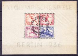 ALLEMAGNE Empire Mi  Bl 5/6 Obl  (7B858) - Allemagne