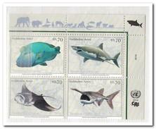 UNO Wenen 2014, Postfris MNH, Fish - Wenen - Kantoor Van De Verenigde Naties