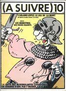 A SUIVRE N° 10 NOVEMBRE 1978 REVUE PÉRIODIQUE BD BANDE DESSINÉE - A Suivre