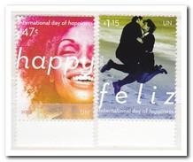 UNO New York 2014, Postfris MNH, Day Of Happiness - New York - Hoofdkwartier Van De VN