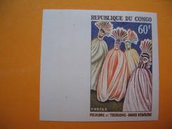 Timbre Non Dentelé   N° 165  Folklore Et Tourisme  1964 Avec Charnière - République Du Congo (1960-64)