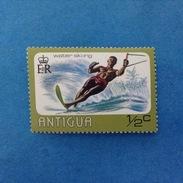ANTIGUA FRANCOBOLLO NUOVO STAMP NEW MNH** SPORT SCI D'ACQUA WATER SKI-ING 1/2 - Antigua E Barbuda (1981-...)