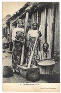 AFRIQUE - Le Pilage Du Riz - Cartes Postales